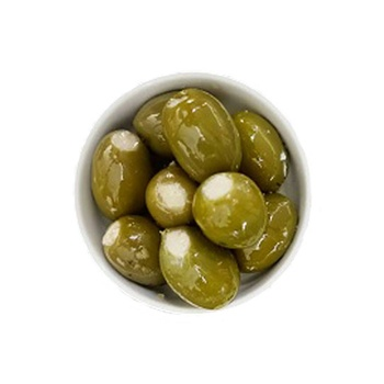 Mondo Foods Marinated Green Olives Filled With Blue Cheese