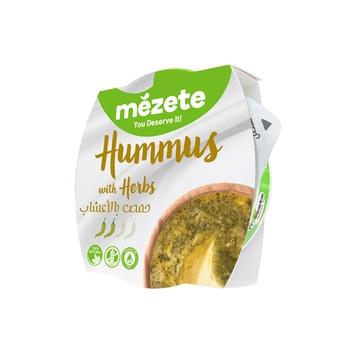 Mezete Hummus With Herbs 215g