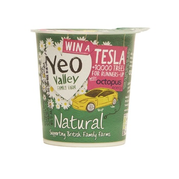 Yeo Vally Organic Whole Milk Natural Yoghurt  150g