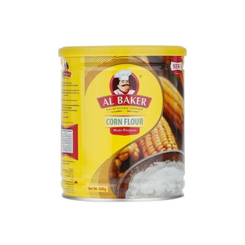Al Baker Corn Flour Tins 400g