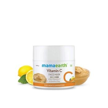 Mamaearth Vitamin C Face Mask With Vitamin C & Kaolin Clay 100ml