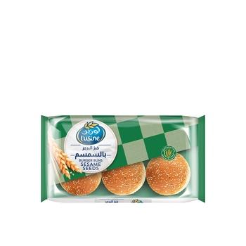 Lusine Burger Bun Sesame Seed 400g