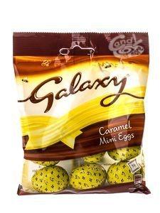 Galaxy Caramel Mini Eggs 84g