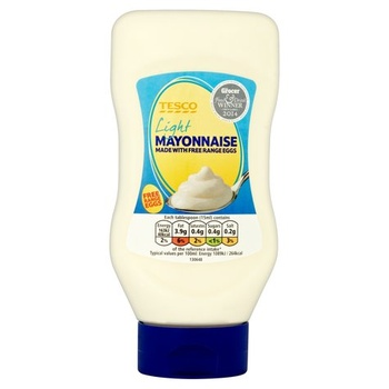 Tesco Top Down Mayonnaise Light 480Ml