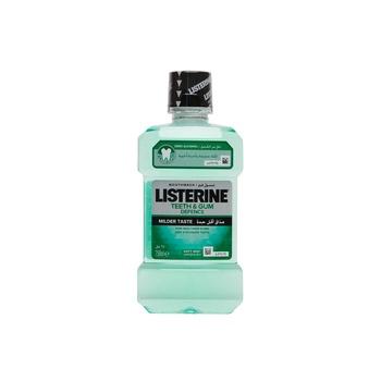 Listerine Mouthwash Teeth & Gum Defence Milder Taste Soft Mint 250ml