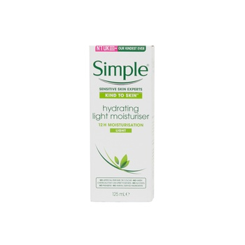 Simple KIND TO SKIN Hydrating Light Moisturizer Cream 125 ml