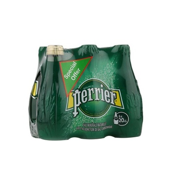 Perrier Sparkling Water 6X200ml