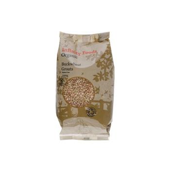 Infinity Foods Organic Buckwheat Groats 500g