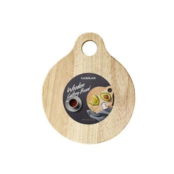 Lock & Lock Round Wooden Cutting Board