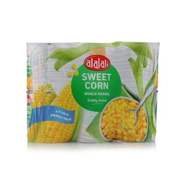 Al Alali Whole Kernel Corn 6 x 200g