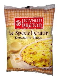 Paysan Breton Grates Topping Cheese 200g