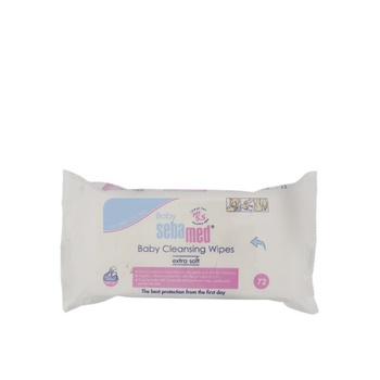 Sebamed Baby Cleansing Wipes  72 pcs