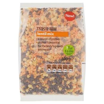 Tesco Whole Foods Lentil Mix 300g