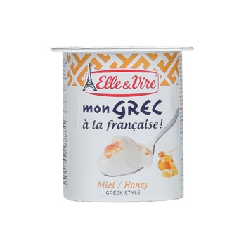 Elle & Vire Greek Yoghurt Honey 125g