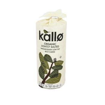 Kallo No. 1 Thick Rice Cake Salted 130g