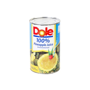 Dole Family Size Pineapple Unsweetened Juice 1.36 Liters