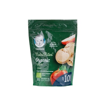 Gerber Apple Organic Biscuit 150g