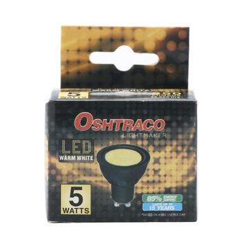 Oshtraco Warm White LED Lamp - 5 Watt