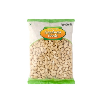 Goodness Foods Cashew Raw 500g