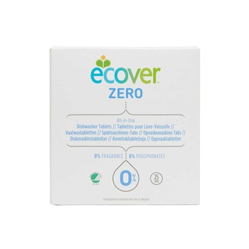 Ecover Zero All In 1 Dishwasher Tab 25s
