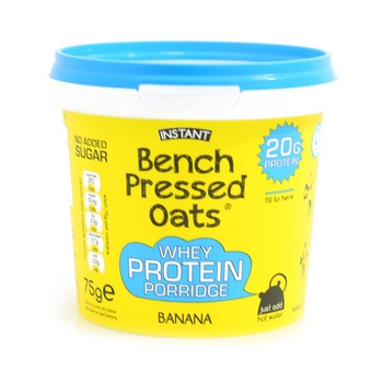 Instant Bench Pressed Oats Banana 75g