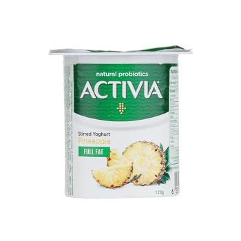 Activia Yoghurt Pineapple 120g