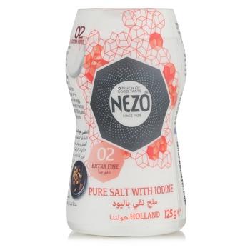 Nezo Iodized Salt Red Bottle Shaker 125g