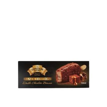 London Dairy Black Edition Double Chocolate Brownie 100Ml