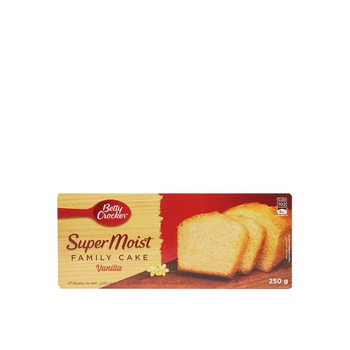 Betty Crocker Pound Cake Vanilla 250g