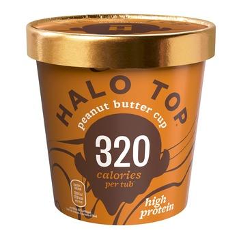 Halo Top Peanut Butter Cup Ice Crea 473g