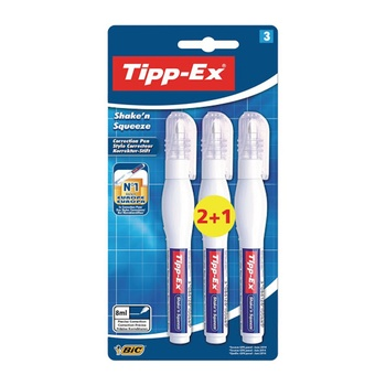 BIC Tipex Correction Pen 3 Pc Pack