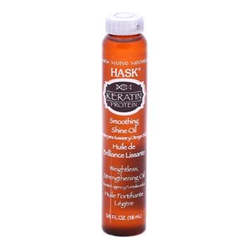 Hask Keratin Protein Smoothing Shine Oil 18ml