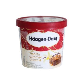 Haagen Dazs Vanilla Caramel Brownie Ice Cream 100ml