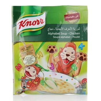Knorr Alphabet Kids Soup Chicken  50g