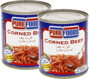 Pure Foods Corned Beef 2 x 210 gms @ Special Price