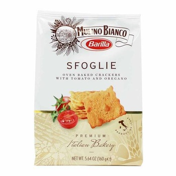 Barilla Sfoglie Cracker with Tomato & Oregano 160g