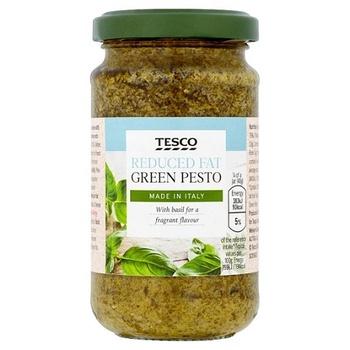 Tesco Reduced Fat Green Pesto 190g