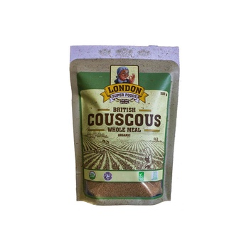 London Super Foods Organic Gluten Free Wholemeal Couscous 500g