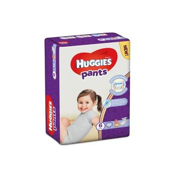Huggies pants diapers size 6 15-25kg mega pack 30 count