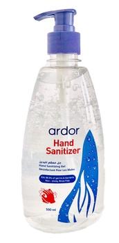 Ardor hand sanitizing gel 500ml