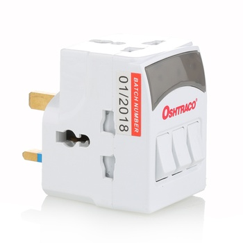 Oshtraco 3 way Switch Universal adaptor