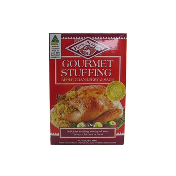 Kook A Krumb Apple Cranberry And Sage Gourmet Stuffing 200g