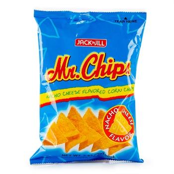 Jack & Jill Mr. Chips 100g