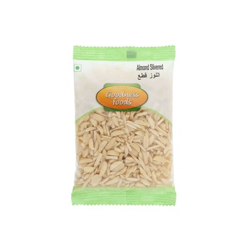 Goodness Foods Almond Blanched Slivered 100g