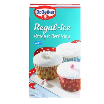 Doctor Oetker Regal Ice Ready To Roll Icing White 454g