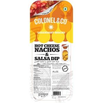 Colonel Hot Cheese Nacho & Salsa 90g