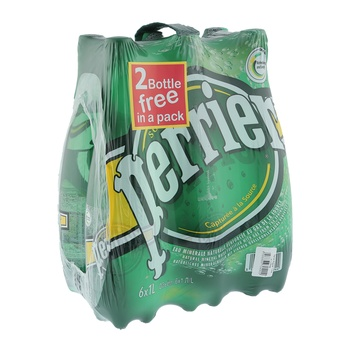 Perrier Sparkling Water 6 x 1 ltr