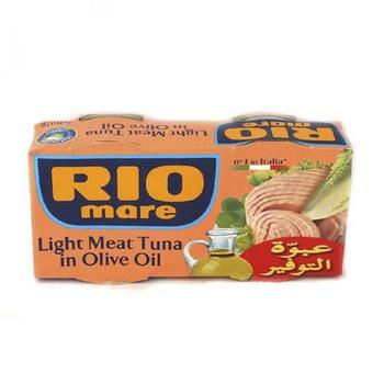 Rio Light Meat Tuna In Olive Oil 2X160g