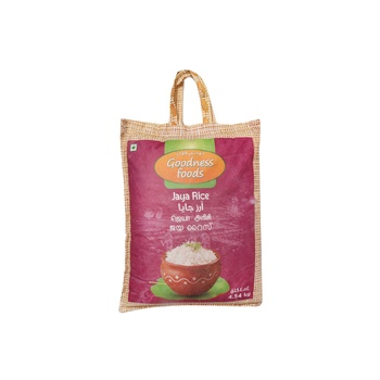 Goodness Foods Jaya Rice 4.54 kg
