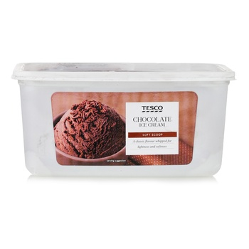 Tesco Soft Scoop Chocolate 2 ltr